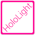 HOLO LIGHT PINK AOKP/CM THEME icon