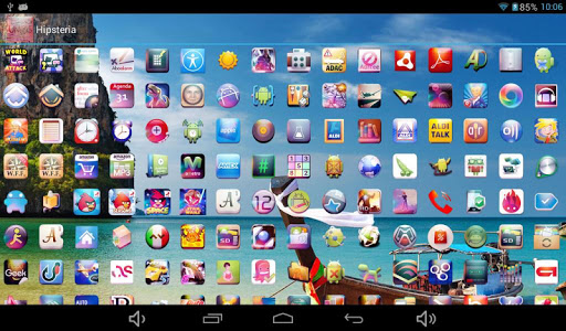 玩個人化App|Hipsteria Icon Pack免費|APP試玩