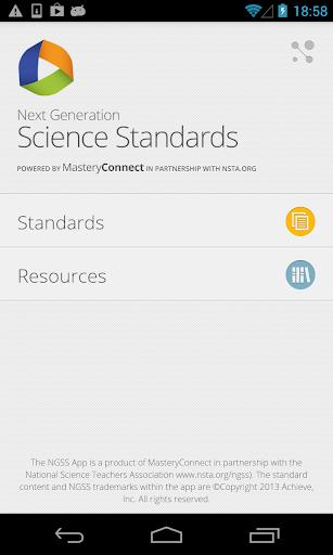 Next Gen Science Standards