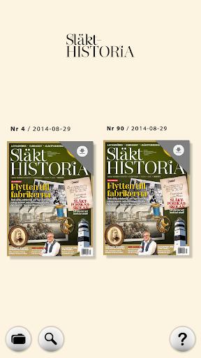 Släkthistoria e-tidning