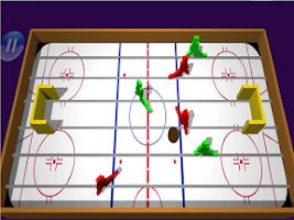 Screenshot of Table Ice Hockey 3d