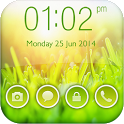 Green Nature Go Locker Theme icon