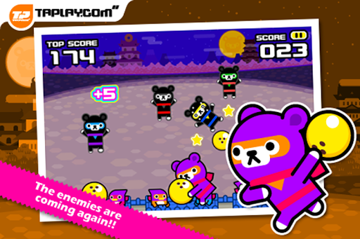 Tappi Bear - Bowling Ninja