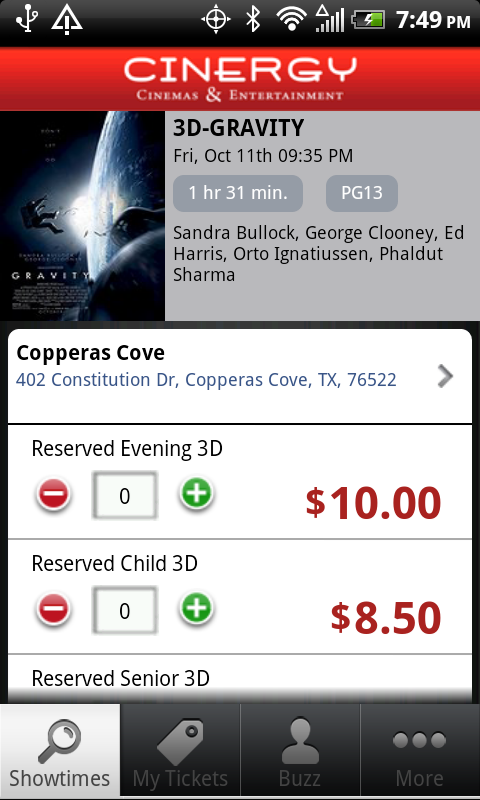 Cinergy Cinemas Entertainment Android Apps On Google Play
