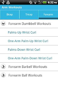 Arm Workouts - screenshot thumbnail