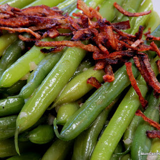Green Bean Salad With Fried Shallots