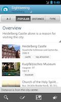 Screenshot of Heidelberg Guide by Triposo