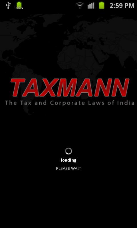 Taxmann Android Apps- screenshot