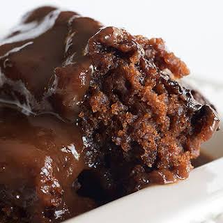 Chocolate Cobbler.