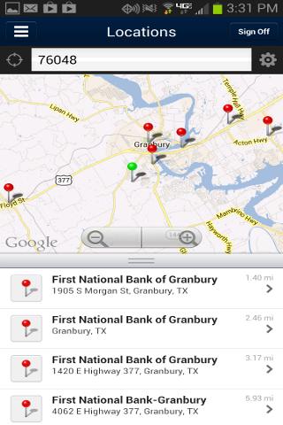 Download FNB Granbury Mobile Google Play softwares