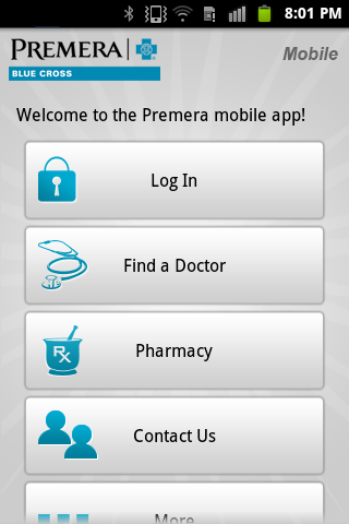 Premera Mobile- screenshot
