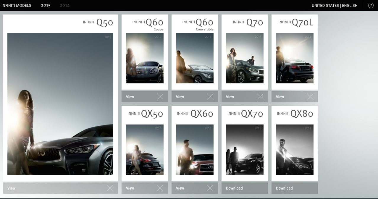 Infiniti Portfolio- screenshot