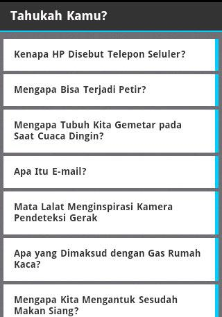 【免費書籍App】Tahukah Kamu?-APP點子