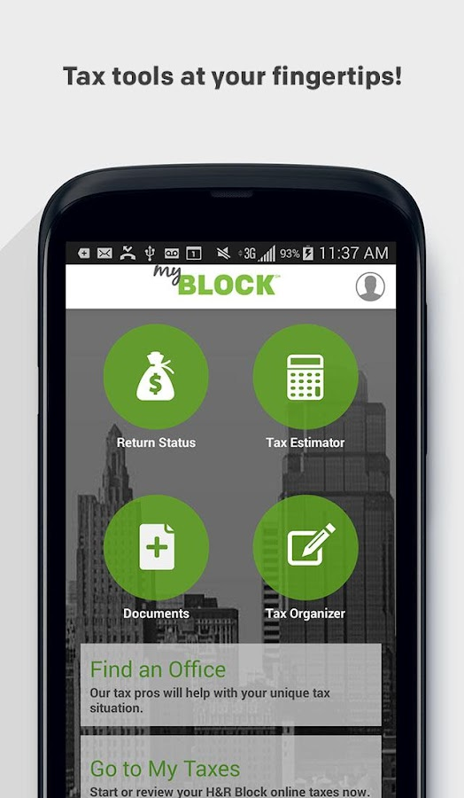 MyBlock - screenshot