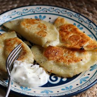 Small Batch Potato & Cheese Pierogi.