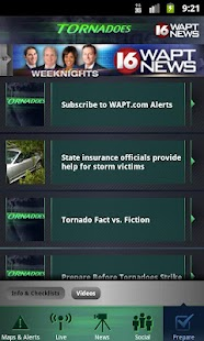 Tornadoes WAPT 16- screenshot thumbnail