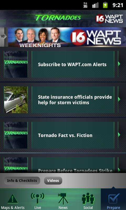 Tornadoes WAPT 16- screenshot