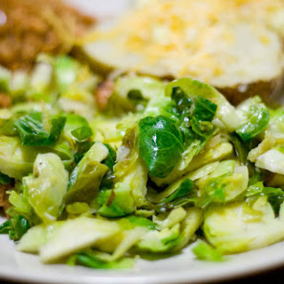 Eva's Brussels Sprouts.