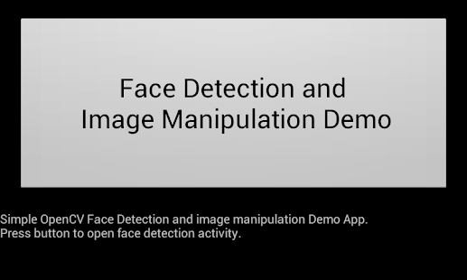 Simple OpenCV Face Detection