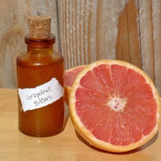 DIY Grapefruit Bitters.