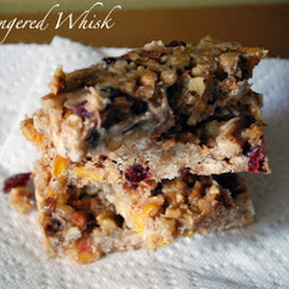 Cranberry Mango Nut Bars (Gluten Free and Raw)