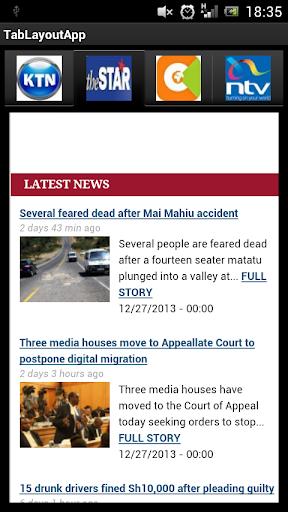 Kenyan News App