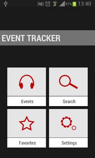 Music Event Tracker