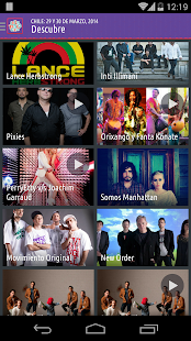 Lollapalooza Official 2014 App - screenshot thumbnail