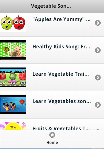 Vegetable Kids Songs