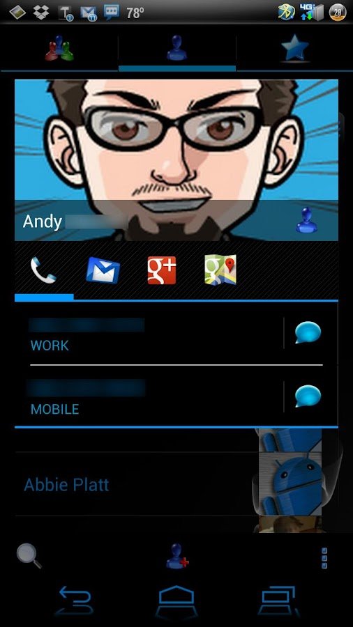 EpicBlue CM9/10 Theme DONATE - screenshot