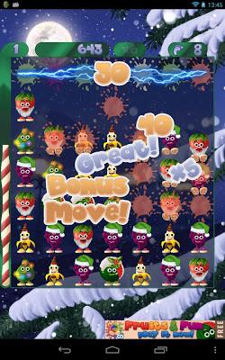 Fruit Swipe! Xmas - screenshot