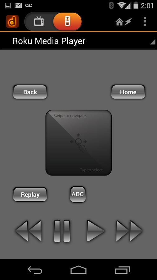 Dijit Universal Remote Control- screenshot