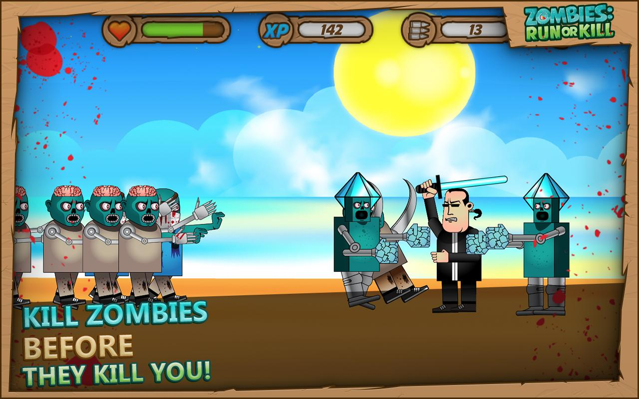 Zombies: Run or Kill - screenshot