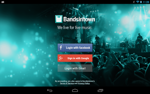 Bandsintown Concerts - screenshot thumbnail