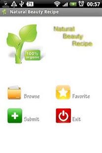 Natural Beauty Recipe- screenshot thumbnail