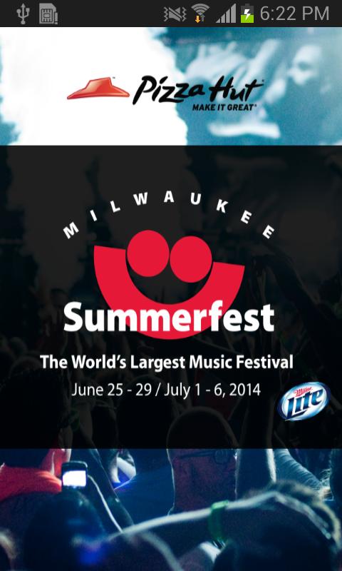 Summerfest 2014 - screenshot