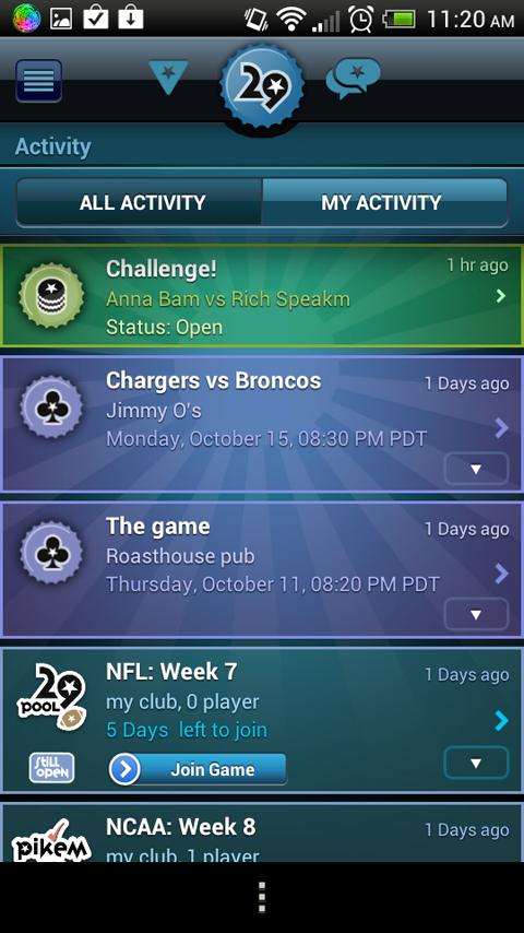 29 Club Sports - screenshot