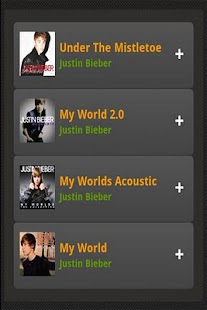 Justin Bieber Albums Songs - screenshot thumbnail
