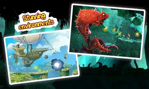 صور تحميل اللعبة الرائعة Rayman Jungle 2.2.0 للاندرويد