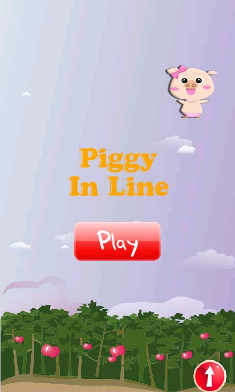 Piggy lines up - screenshot