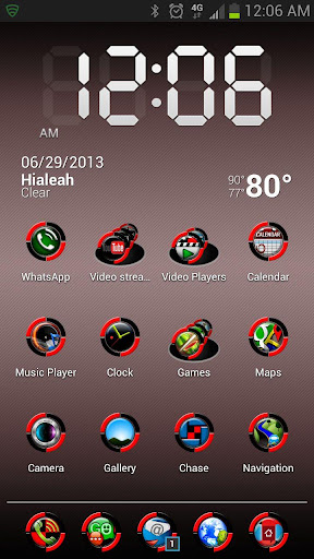 HD Icons: Red Bio-Sphere