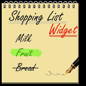 Shopping List Widget