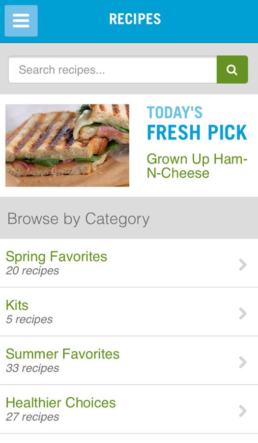 30 Day Salad Swap - screenshot