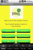 Screenshot of The Garden Center