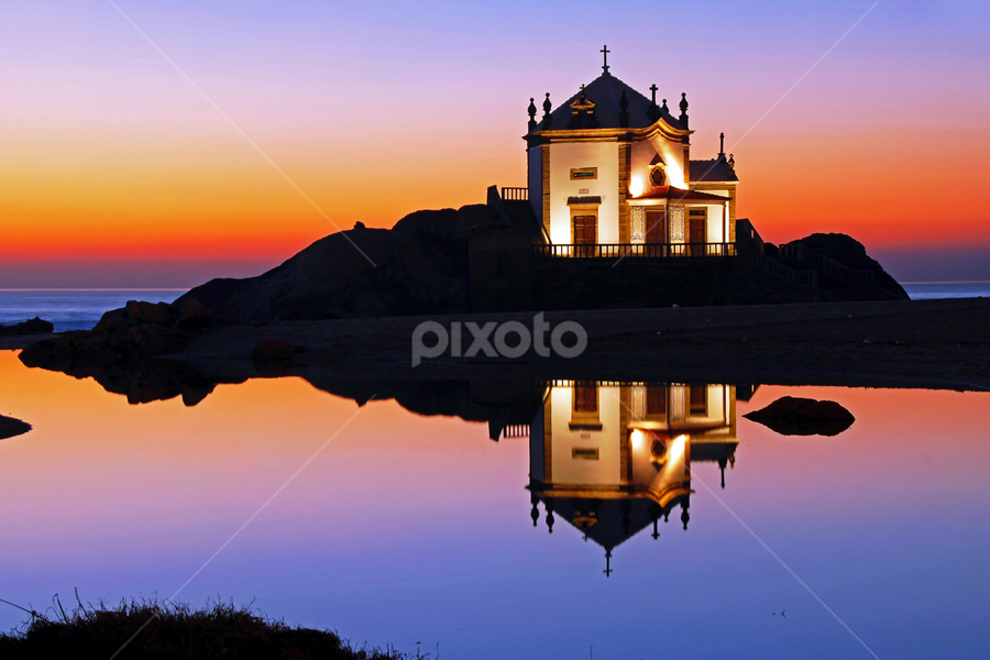 Reflex at sunset by Antonio Amen - Buildings & Architecture Places of Worship (  )