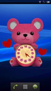 HoneyBear ClockWidget