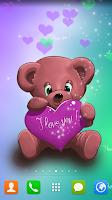 Screenshot of Live Wallpaper Teddy Bear