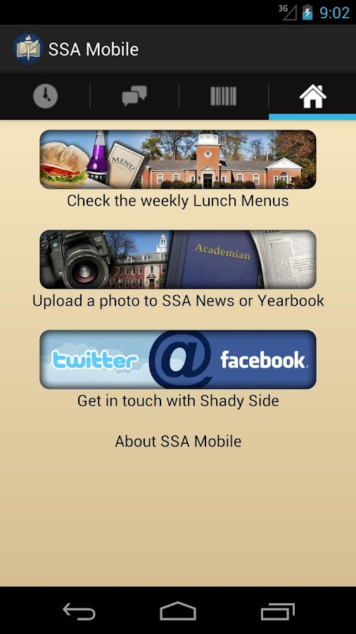 SSA Mobile - screenshot