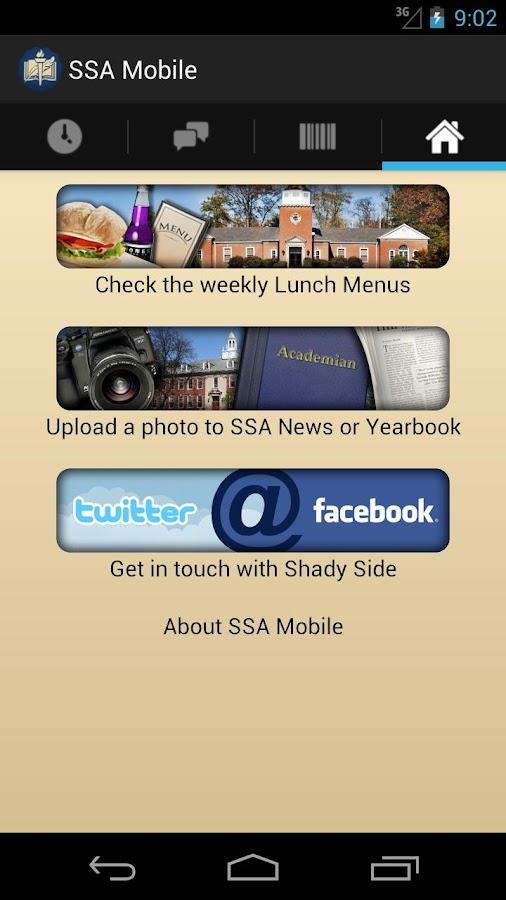 SSA Mobile - screenshot