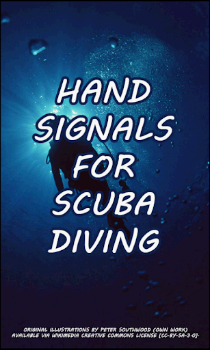 Hand Signals for Scuba Diving